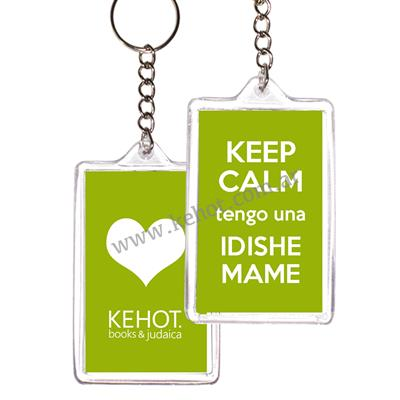 Llavero KEEP CALM - IDISHE MAME